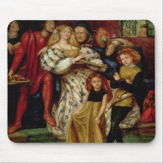 La famille de Borgia, 1863 Tapis De Souris
