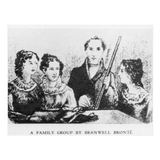 La famille de Bronte Carte Postale
