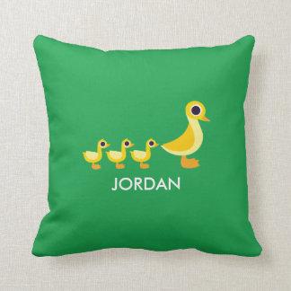 La famille de canard oreiller