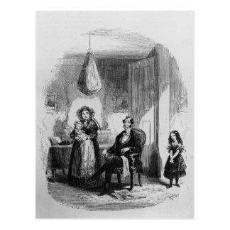 La famille de Dombey Carte Postale