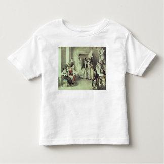 La famille de Franz Peter Schubert jouant des jeux T-shirt Pour Les Tous Petits