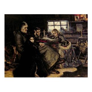 La famille de Menshikov en Beriozovo, 1883 Carte Postale