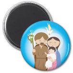 La famille sainte aimants pour réfrigérateur