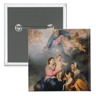 La famille sainte ou la Vierge de Séville Pin's