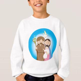 La famille sainte sweatshirt