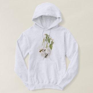 La faune d'oiseau de colibri fleurit le sweatshirt