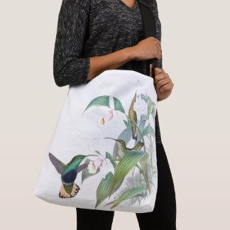 La faune d'oiseaux de colibri fleurit le sac