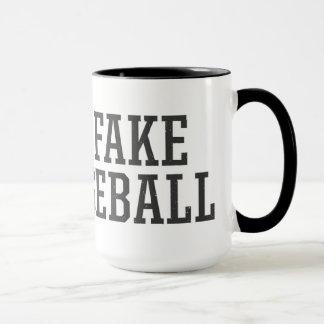 La fausse tasse de base-ball