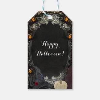 La faveur chique de Halloween d'anniversaire de Étiquettes-cadeau
