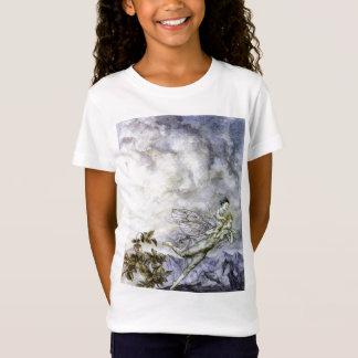 La fée bleue porte le T-shirt de bébé par Rackham