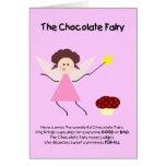 La fée de chocolat carte
