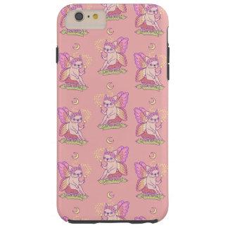 La fée mignonne de Frenchie jette un sort magique Coque Tough iPhone 6 Plus
