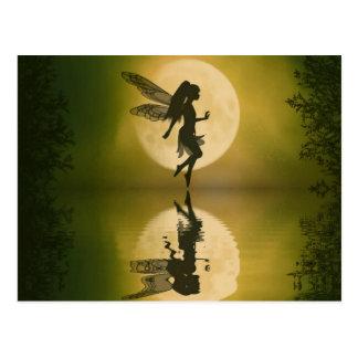 La fée reflètent la carte postale