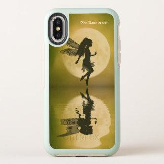 La fée reflètent le coque iphone d'iPhonex