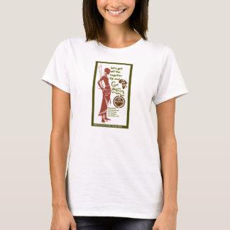 La femelle vont pièce en t positive t-shirt