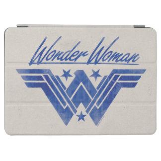 La femme de merveille a empilé le symbole protection iPad air