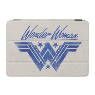 La femme de merveille a empilé le symbole protection iPad mini