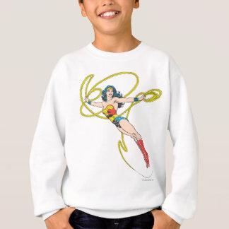 La femme de merveille tient le lasso 4 sweatshirt