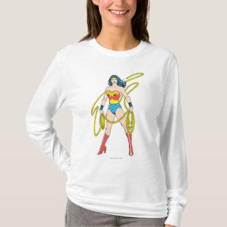 La femme de merveille tient le lasso 5 t-shirt