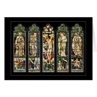La fenêtre est, église de Troutbeck, Cumbria Carte De Vœux