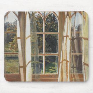 La fenêtre jaune 2013 tapis de souris