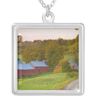 La ferme de Jenne dans Woodstock, Vermont. Chute Collier
