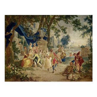 La fête de village après D.Teniers Cartes Postales