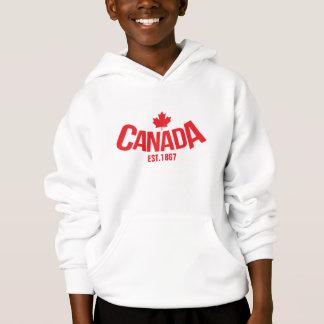 La feuille d'érable du Canada badine le pullover à