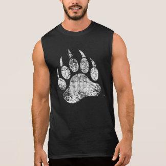 La fierté gaie d'ours a affligé la patte d'ours t-shirt sans manches