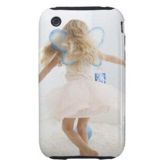 La fille (4-5) avec la fée s'envole la danse coques iPhone 3 tough