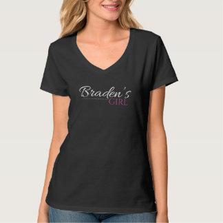 La fille de Braden V - T-shirt de cou