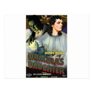 La fille de Dracula Carte Postale