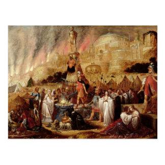 La fille de Jephthah, 1643 Carte Postale