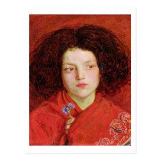 La fille irlandaise, 1860 (huile sur la toile étab cartes postales