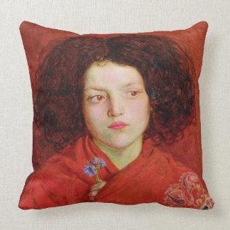 La fille irlandaise, 1860 (huile sur la toile étab oreillers