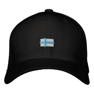 La Finlande (Cap_ noir Casquette Brodée