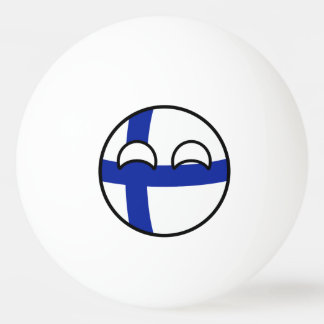 La Finlande Countryball Balle Tennis De Table