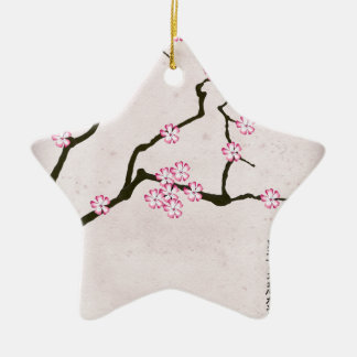 la fleur antique 4 des fernandes élégants ornement étoile en céramique