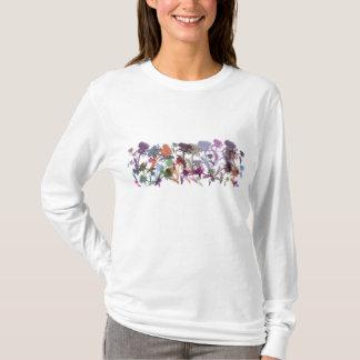 La fleur des femmes du T-shirt de l'Ecosse