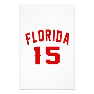 La Floride 15 conceptions d'anniversaire Papiers À Lettres