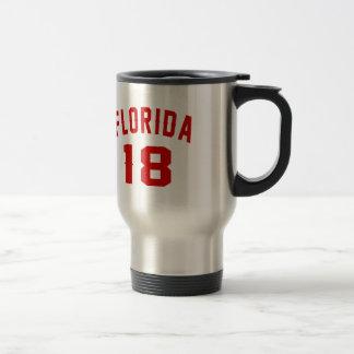 La Floride 18 conceptions d'anniversaire Mug De Voyage