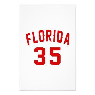 La Floride 35 conceptions d'anniversaire Papiers À Lettres