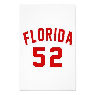La Floride 52 conceptions d'anniversaire Papeterie
