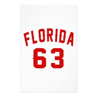La Floride 63 conceptions d'anniversaire Papeterie