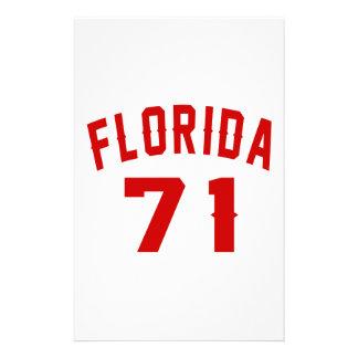 La Floride 71 conceptions d'anniversaire Motifs Pour Papier À Lettre