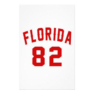 La Floride 82 conceptions d'anniversaire Papier À Lettre Personnalisable
