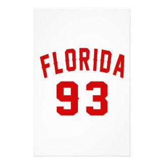 La Floride 93 conceptions d'anniversaire Papiers À Lettres