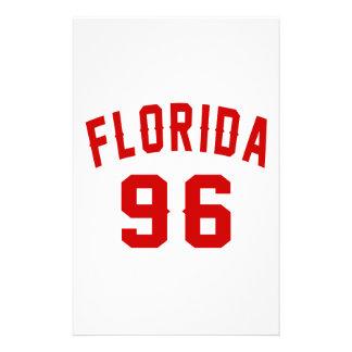 La Floride 96 conceptions d'anniversaire Papeterie