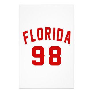 La Floride 98 conceptions d'anniversaire Papeterie