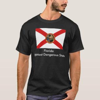 La Floride, Florida8th la plupart d'état dangereux T-shirt
